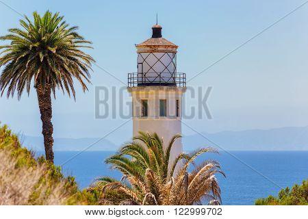 California Lighthouse, Historic Point Vicente Lighthouse, California