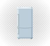 Sale of household appliances freezer. Electronic device refrigerator. Sale badge label refrigerator logo. Home appliances in flat style. Refrigerator, fridge magnet fridge door, sale fridge, freezer poster