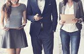 Human Resources Interview Recruitment Job Concept poster
