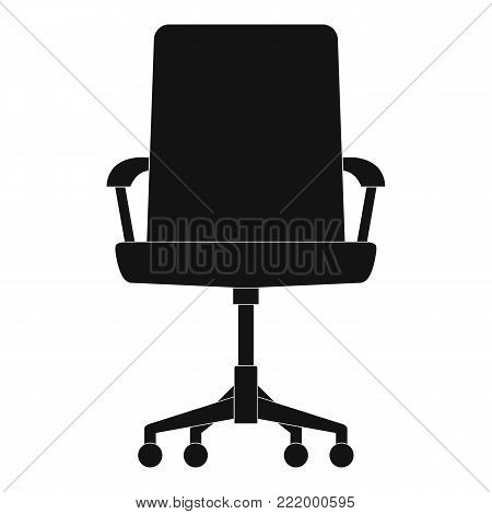 Baby chair icon. Simple illustration of baby chair vector icon for web.