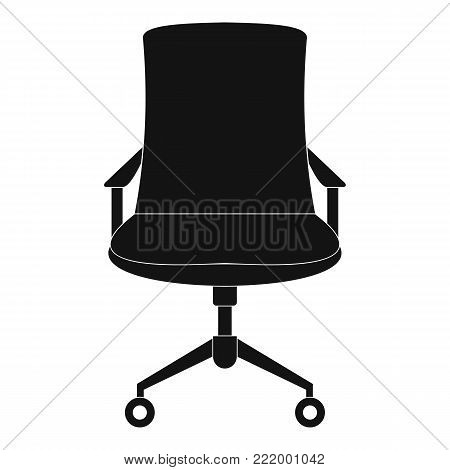 Old armchair icon. Simple illustration of old armchair vector icon for web.