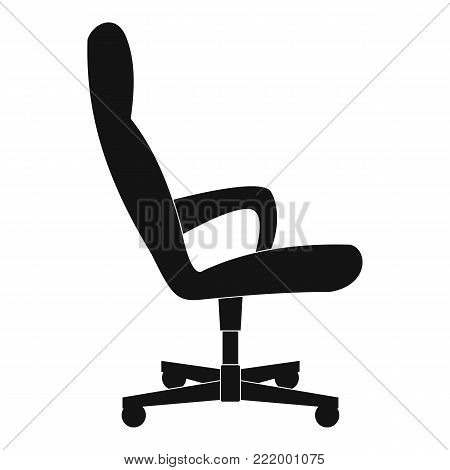 Guest chair icon. Simple illustration of guest chair vector icon for web.