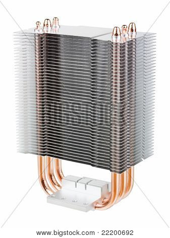Cpu Cooler With Heatpipes
