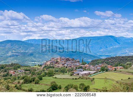 Estamariu, Comarca Of Alt Urgell, Lleida, Catalonia, Spain.