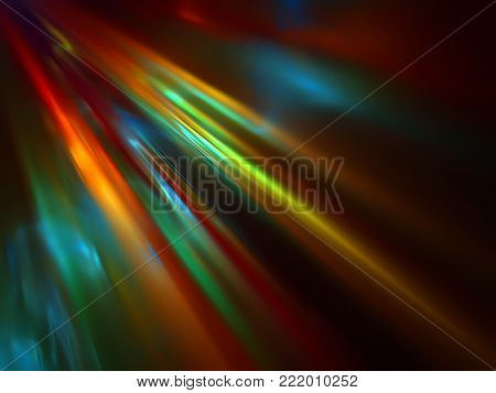 Shine Colorful Brocade Tissue Background with Folds
