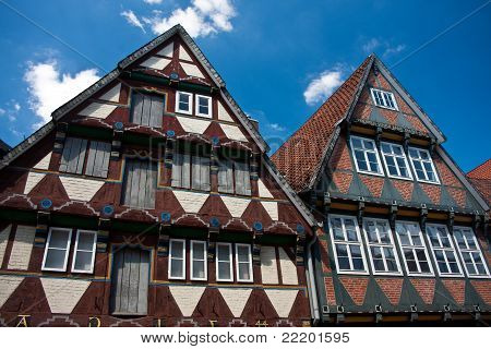 Traditional Timber Frame House In Celle, Germany