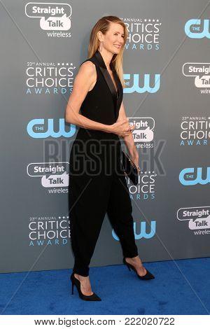 LOS ANGELES - JAN 11:  6603Laura  at the 23rd Annual Critics' Choice Awards at Barker Hanger on January 11, 2018 in Santa Monica, CA