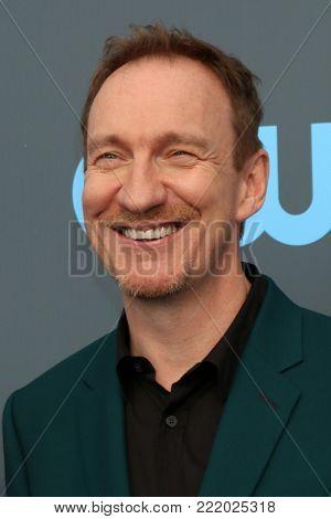 LOS ANGELES - JAN 11:  David Thewlis at the 23rd Annual Critics' Choice Awards at Barker Hanger on January 11, 2018 in Santa Monica, CA