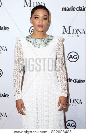 LOS ANGELES - JAN 11:  Kiersey Clemons at the Marie Claire Image Makers Awards 2018 at the Delilah on January 11, 2018 in West Hollywood, CA