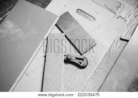 Do makeovers. Sawn board. Make a drawing. Black and white art monochrome photography. Black and white creative photography. Black and white conceptual image. Beautiful black and white background.