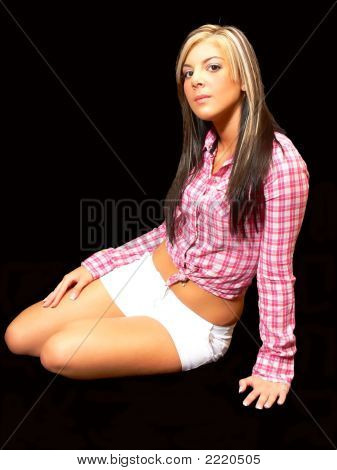 Young Sitting Lady.