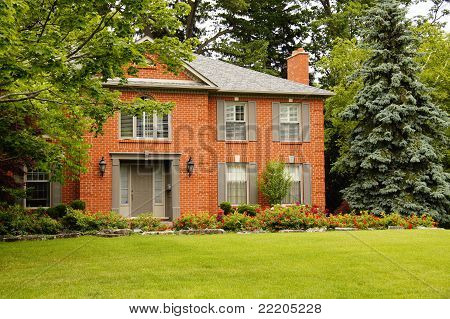Luxury House With Shutters