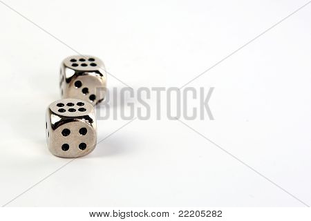 Metal dices