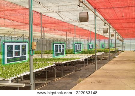 iot smart industry robot 4.0 agriculture concept,agronomist,farmer use augmented mixed virtual reality,artificial intelligence technology to monitoring,control,detect sensor condition in farm