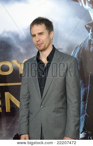 SAN DIEGO, CA - JULY 23: Sam Rockwell arrives at the world premiere of
