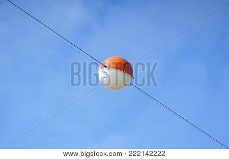 Aircraft Warning Sphere Warning Marker Balls For Power Lines
