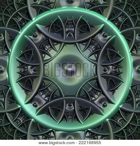 Fractal Seamless Background - Fractal Art - 3d Image