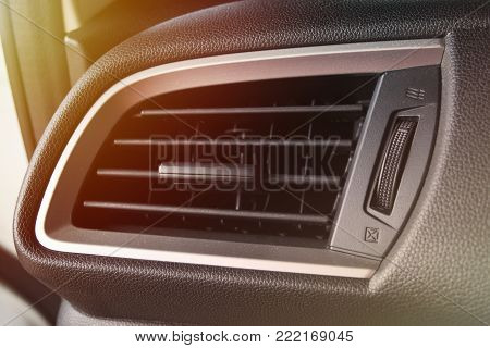 Car Air Condition Control Panel With Dust