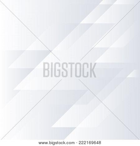 Abstract grey hi-tech corporate background. Vector minimal light design