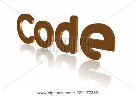 Programming Term - Code   - 3d Image