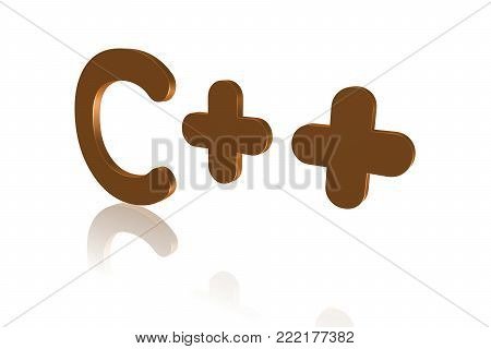 Programming Term - C++ - High-level Programming Language - 3d Image