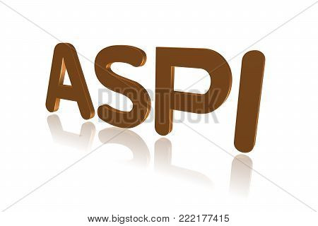 Programming Term - Aspi - Advanced Scsi Programming Interface - 3d Image