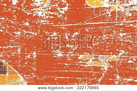 Grunge Urban Background, Texture Vector, Dust Overlay Distress Grain, Dark Messy Dust Overlay Distress Background. Easy To Create Abstract Dotted, Scratched, Vintage Effect With Noise And Grain