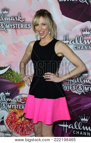 LOS ANGELES - JAN 13:  Debbie GIbson at the Hallmark Channel and Hallmark Movies and Mysteries Winter 2018 TCA Event at the Tournament House on January 13, 2018 in Pasadena, CA