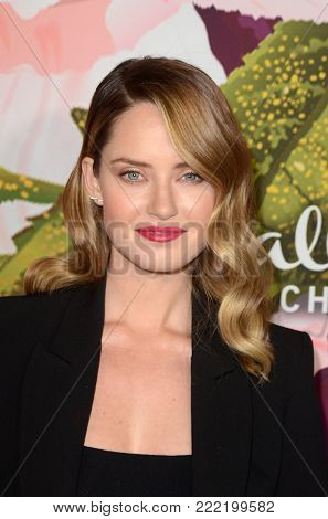 LOS ANGELES - JAN 13:  Merritt Patterson at the Hallmark Channel and Hallmark Movies and Mysteries Winter 2018 TCA Event at the Tournament House on January 13, 2018 in Pasadena, CA