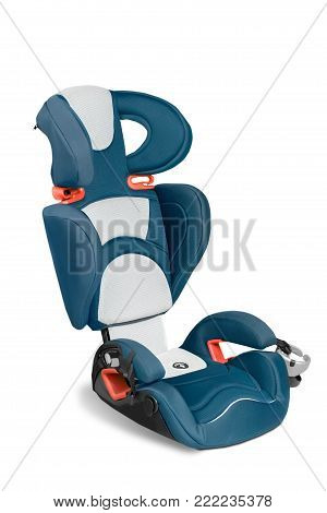 Child chair car seat belt car seat white background