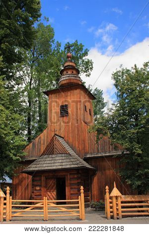 Church of Our Lady of Czestochowa in Zakopane (built in 1847, also called the