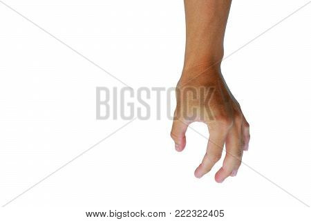 gesture of Asian's hand is showing in gestures