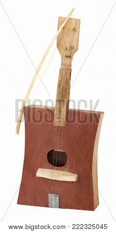 african guitar hand made from recycled materials