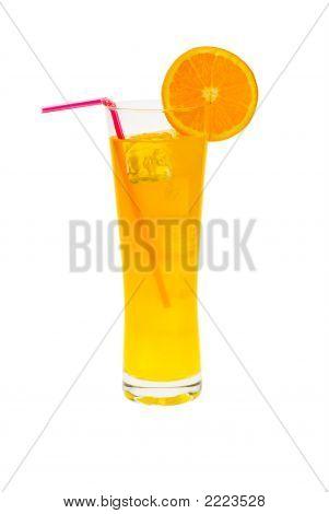 Cocktail mit Orange