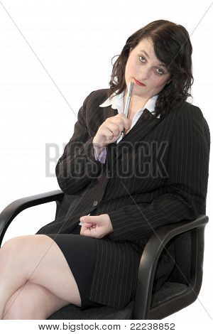 Business Woman In Meeting 01