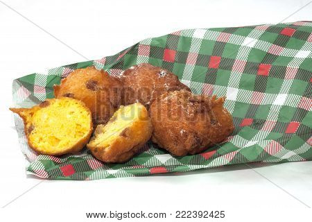 pancakes of carnival castagnole fried and stuffed zeppole