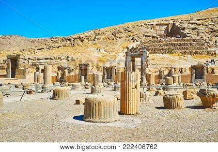 Persepolis is the visit card of Pars province and one of the most famous landmarks of Iran.