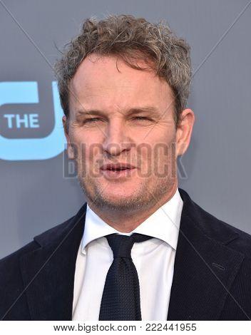 LOS ANGELES - JAN 11:  Jason Clark arrives for the 23rd Annual Critics' Choice Awards on January 11, 2018 in Santa Monica, CA