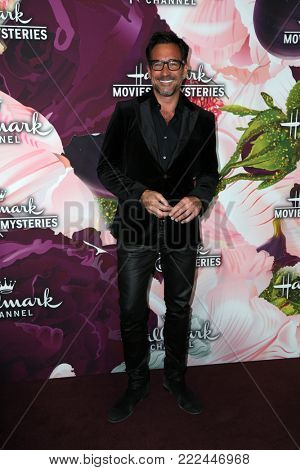 LOS ANGELES - JAN 13:  Lawrence Zarian at the Hallmark Channel and Hallmark Movies and Mysteries Winter 2018 TCA Event at the Tournament House on January 13, 2018 in Pasadena, CA