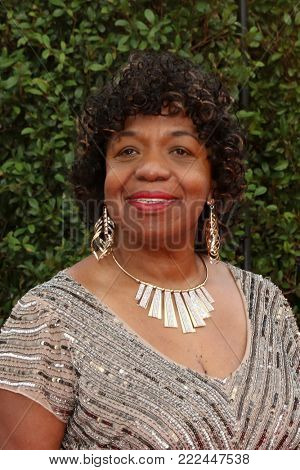 LOS ANGELES - JAN 15:  Gwen Carr, mother of Eric Garner at the 49th NAACP Image Awards - Arrivals at Pasadena Civic Center on January 15, 2018 in Pasadena, CA