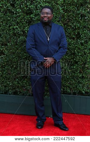 LOS ANGELES - JAN 15:  Lil Rel Howery at the 49th NAACP Image Awards - Arrivals at Pasadena Civic Center on January 15, 2018 in Pasadena, CA