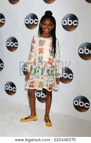 LOS ANGELES - JAN 15:  Jayden Rey at the 2018 NAACP Image Awards at Convention Center on January 15, 2018 in Pasadena, CA
