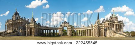 Potsdam, Germany-october 2017: Potsdam - Castle In Sanssouci Park