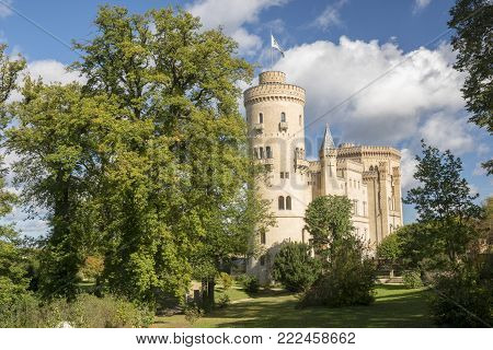 Potsdam, Germany-October 2017: Potsdam - Castle and Babelsberg Park