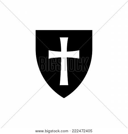 Shield -- symbol of protection, safeguard, security, defence, honor
