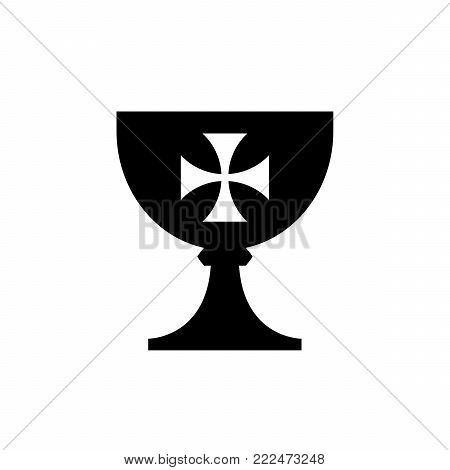 the Holy Grail (cup) -- medieval mystical symbol, the source of life and immortality, abundance and fertility,