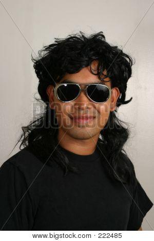 Mullet Man Glasses