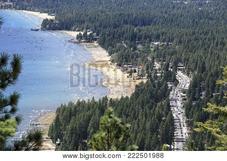 Overlook Lake Tahoe from Historic Stateline Fire Lookout