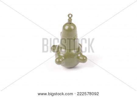 Sinker Brain marker 70 gr. Carp. Isolated on white background
