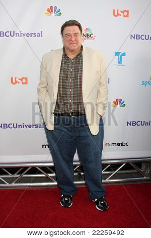 LOS ANGELES - AUG 1:  John Goodman arriving at the NBC TCA Summer 2011 Party at SLS Hotel on August 1, 2011 in Los Angeles, CA